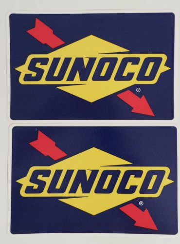 Sunoco Fuel Stickers