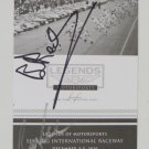 Derek Bell and Bobby Rahal Autographed Ticket Stub