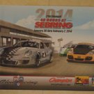 2014 Porsche Club of America 48 Hours at Sebring Poster