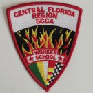 SCCA Workers School Central Florida Region Patch
