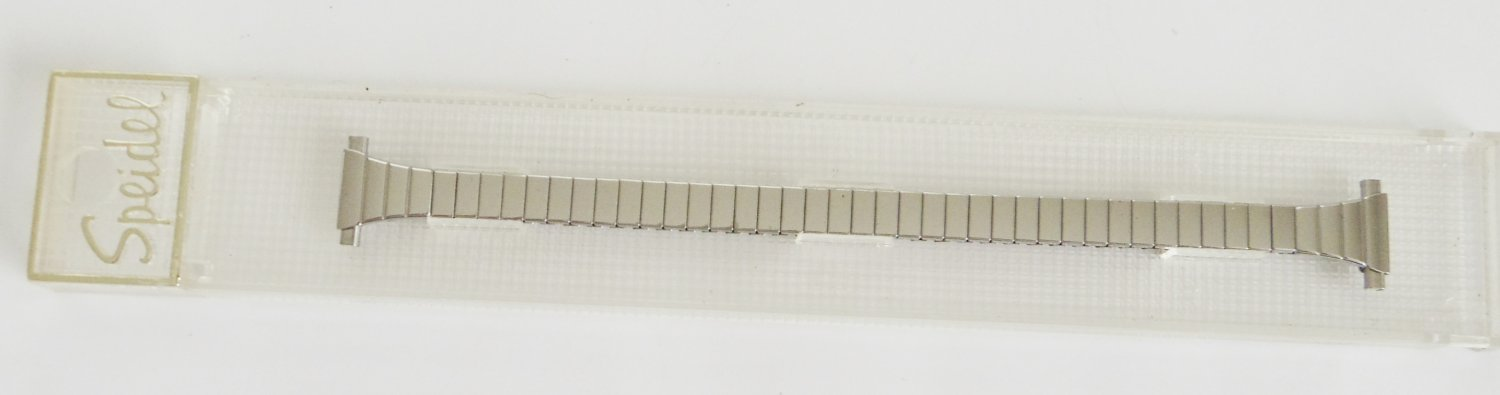 10mm Vintage Speidel Twist-O-Flex Stainless Women's Watch Band