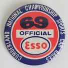 Vintage 1969 Cumberland National Championships Sportscar Races Button