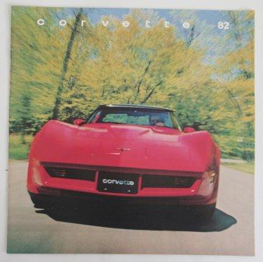 1982 Chevrolet Corvette Advertising NOS Collector Edition Sales Brochure