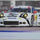 2016 Porsche North American Racing Team Poster IMSA WEC GTLM Porsche Racing