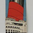 Vintage Cunard Line Ocean Liner Matchbook Cover
