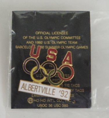 92 Albertville Olimpic Games Lapel PIN