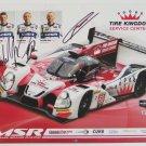 2016 IMSA Honda HPD Autographed Michael Shank Racing Team Hero Card Honda Racing
