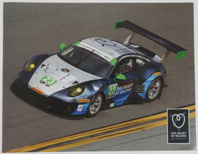 2016 The of Racing Alex Job Porsche Racing Team Hero Card Alex Porsche on