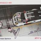 2016 Autographed Porsche North America 911 RSR Racing Team Hero Card