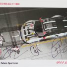 2016 Autographed Porsche North America 912 RSR Racing Team Hero Card