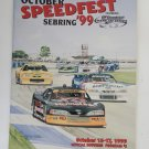 1999 Sebring Int. Racway October Speedfest Program