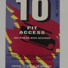 1994 Contac 12 Hours of Sebring Pit Access Ticket