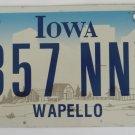 2005 Iowa Graphic License Plate
