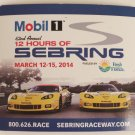 2014 12 Hours of Sebring Race Magnet Corvette GT3