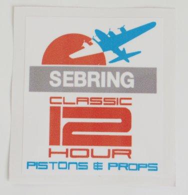 Sebring Classic 12 Hour Test Day Tech Sticker HSR Dec. 1-4 2016