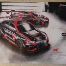 2017 Audi Sport IMSA WeatherTech Sportscar Poster Audi RS 3 LMS R8 LMS