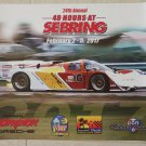 Dyson 962 Porsche Club of America 2017 48 Hours at Sebring Poster PCA