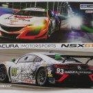 Acura NSX GT3 IMSA Daytona 24 Drivers Signed Photo Hero Card