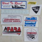 Track Day Racing Stickers Club Racing Stickers