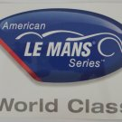 ALMS World Class America Le Mans Series Sticker