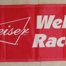 Budweiser Welcome Race Fans Banner