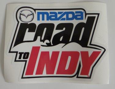 Mazda Road to Indy Sticker