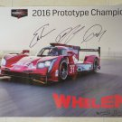 Whelen Cadillac DPi VR Racing Team Autographed Poster IMSA WTSC