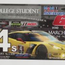 2017 Mobil1 12 Hours of Sebring Race Ticket