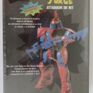 Net Warriors Net Attacker Surge Robot Model Kit Anime Sifi Gundam