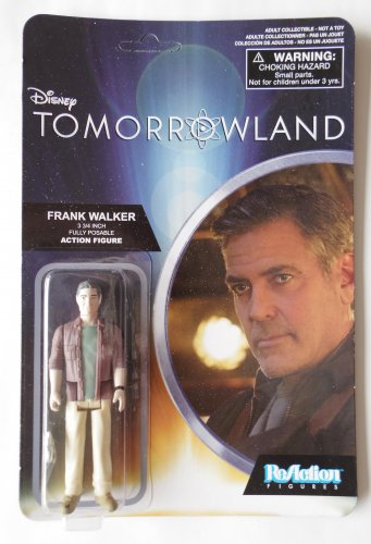 Disney Tomorrowland Sifi Movie George Clooney Action Figure