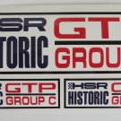 HSR Historic GTP Group C Stickers