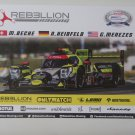 2017 Rebellion Racing Petit Le Mans Hero Photo Card