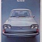 1972 Volkswagen 411 Brochure
