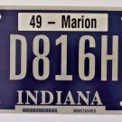 Indiana Disabled License Plate