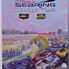 Mobil1 2016 12 Hours of Sebring Official Souvenir Program