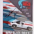 2017 HSR Classic 24 Hour elliot forbes-robinson Autographed Souvenir Program