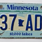 Explore Minnesota License Plate