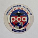 PCA Porsche Club of America Sticker Suncoast Florida
