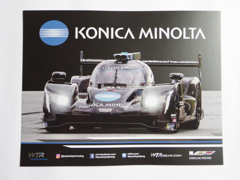 2019 IMSA Konica Minolta LMP Cadillac Racing Team 12 Hours of Sebring Hero Photo Card