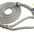 3 Strand Mooring Pendant Nylon Rope 5/8 X 12 Ft with Thimble