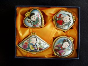 A Set Of Jewelry Boxes (4 items)