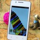 New quad core phone Unlocked mobile phone 4 inch Andorid OS 4Smartphone WiFi Dual card