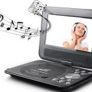 Portable DVD PLAYER EVCD EVD VCD PLAYER USB EBOOK 3D MOVIE MUSIC PLAYER GAMES