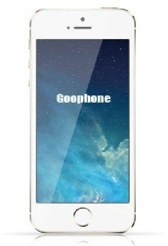 "4.0""GOOPHONE IS QUAD BAND DUAL SIM TV PHONE WIFI MOBILE"
