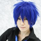 HOT! Vocaloid Kaito short blue layered cosplay Wig Free Shipping