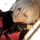 Devil May Cry 4 Nero Short Light Gray Straight Cosplay Anime Wig
