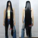 Extra Long Black Cosplay Wig - 60 inch High Temp - CosplayDNA Wigs