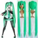Vocaloid Miku Cosplay Bunches Women's Lolita 120cm Long Pigtails MediumSeaGreen Synthetic Full Wig