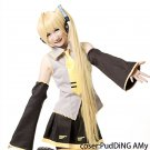 Vocaloid Akita Neru Cosplay  Women's Synthetic 110cm length Ponytail Full Wig