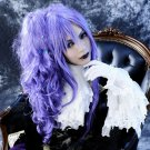 Vocaloid Gackpoid long hair on the temple and vavy Ponytail Anime Cosplay Wigs